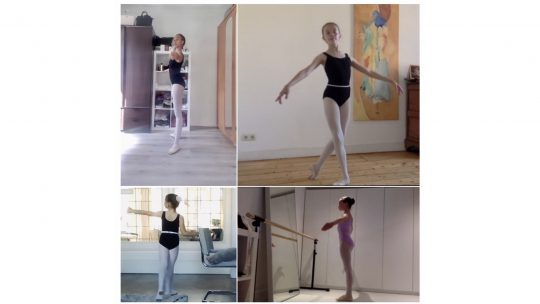 Virtual Training for Dancers
